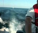 Yachting with Bernard (Beni) Cvetkovic on Lake Ontario 2011